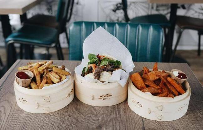 Burgers et frites par Shiso Burger
