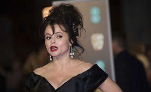 L'actrice britannique Helena Bonham Carter à la cérémonie des BAFTA Awards 2018 à Londres.