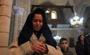 Fuyant le bruit des armes, une grande partie des chrétiens de Homs a célébré Noël dans la Vallée de Nazareth, une combe verdoyante et paisible, berceau du christianisme en Syrie, en contrebas d'un piton où est accroché un fort croisé, le Krak des Chevaliers.