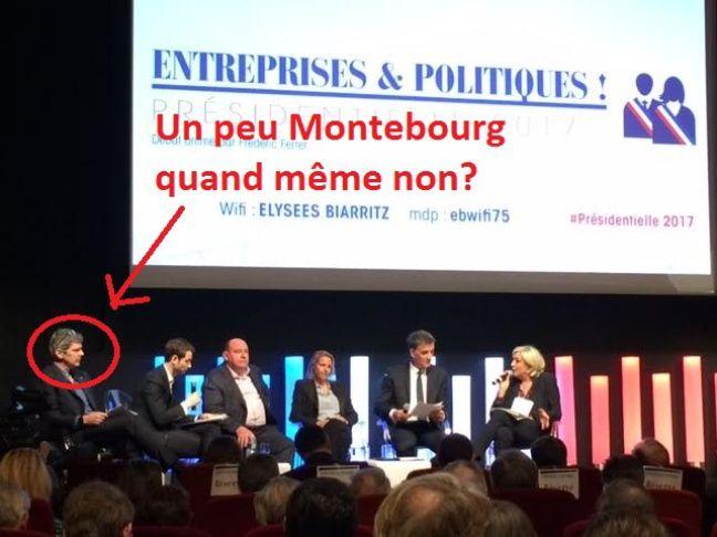 Marine Le Pen débat face à quatre entrepreneurs du Medef.