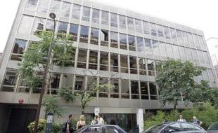 Le quartier général de Clymène,un gestionnaire de fortune, à Neuilly-sur-Seine le 9 juillet 2010