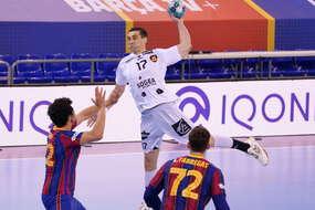 Kiril Lazarov face à Barcelone le 13 février dernier.
