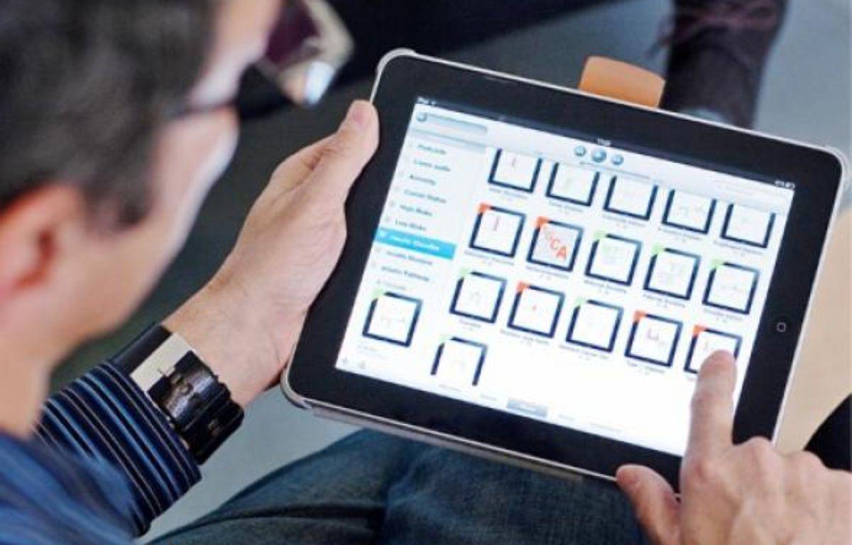 Via des encoches de couleur, l'application permet de visualiser nos risques. –  s.pouzet / 20 minutes