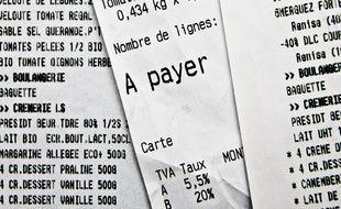 Un projet de loi prévoit la fin de l'impression systématique des tickets de caisse à partir de 2023.