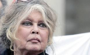 French film legend and animal rights activist Brigitte Bardot looks on prior to a march of various animal rights associations, Saturday, March 24, 2007 in Paris.