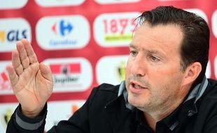 Marc Wilmots, le sélectionneur de la Belgique, le 15 juin 2016, au Haillan.