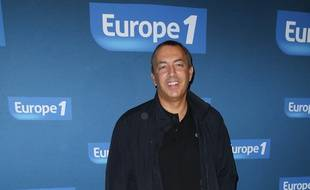 Jean-Marc Morandini à la conférence de presse d'Europe 1, en 2013.