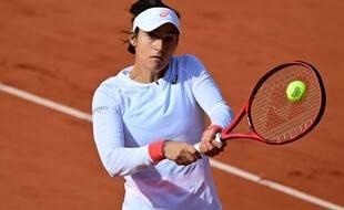 Caroline Garcia, le 4 septembre 2020 à Roland-Garros.