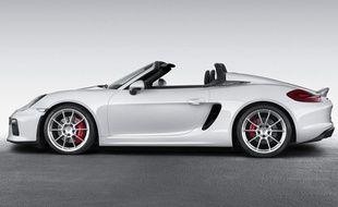 La Porsche Boxster Spyder
