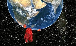 La planète Terre se révèle au public.