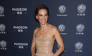 L'actrice Hilary Swank