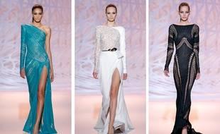 le défilé couture automne-hiver 2014-2015 a eu lieu aux Beaux-arts à Paris.