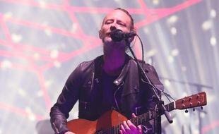 Thom Yorke lors du festival Coachella en avril 2017.