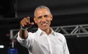 L'ancien président des Etats-Unis, Barack Obama
