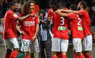 Les Crocos nîmois rejoignent les 8e de finale de la Coupe de la Ligue.