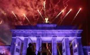 Célébrations de la chute du Mur à Berlin le 9 novembre
