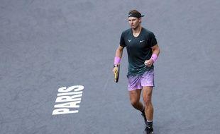 Rafael Nadal à Paris-Bercy