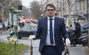 Geoffroy Boulard, le maire du XVIIe arrondissement de Paris, vient de lancer un site signalerunrat.paris.