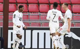Dimanche, un but de Jonathan David a suffi au LOSC pour disposer du Stade Rennais.