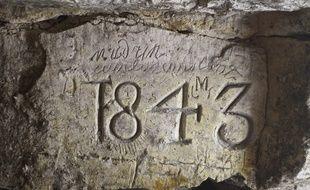 Les catiches de Lezennes (Nord), anciennes carrières de craie, seront ouvertes au public lors des Journées du patrimoine.
