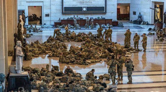 Etats-Unis : 20.000 soldats de la garde nationale déployés pour  l'investiture de Joe Biden