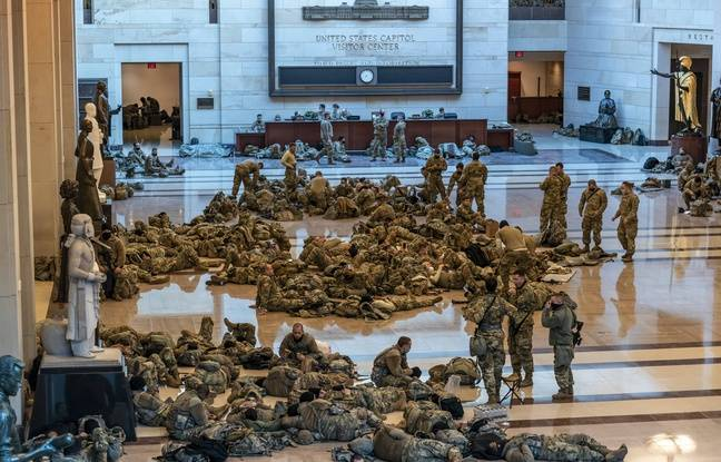 20.000 soldats de la garde nationale déployés pour l'investiture de Joe Biden