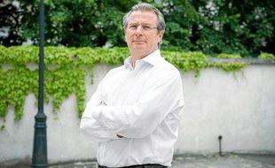 Le président du Racing Métro, Jacky Lorenzetti, en mai 2012.