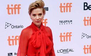Scarlett Johansson au Festival du film international de Toronto