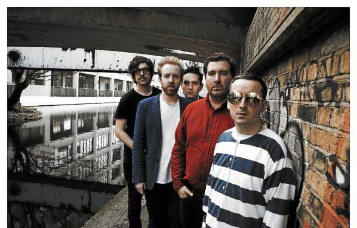Le groupe anglais d'électro-pop Hot Chip sort son cinquième album. –  steve gullickhires