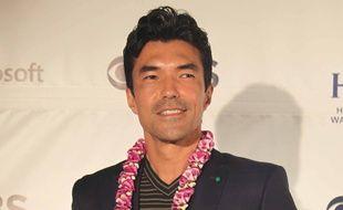 L'acteur de Hawaii 5-O, Ian Anthony Dale, à Honolulu, le 19 septembre 2019.