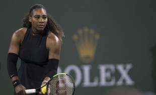 Serena Williams a remporté son premier match depuis 14 mois au 1er tour d'Indian Wells, le 9 mars 2018.