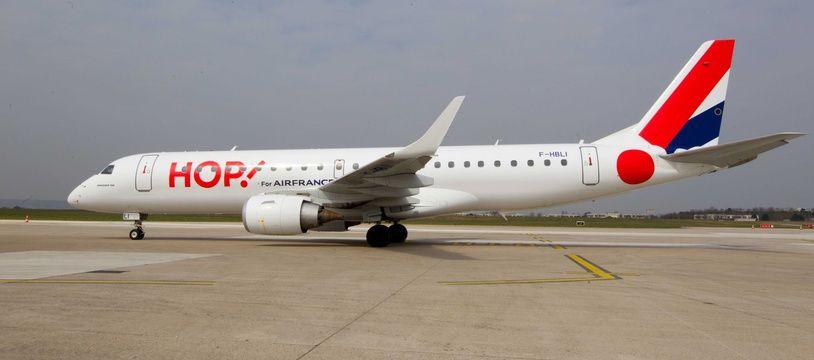 Et Hop! demi-tour pour un avion de la compagnie à l'aéroport d'Orly à cause d'un passager qui avait embarqué sur le mauvais vol. (Illustration)