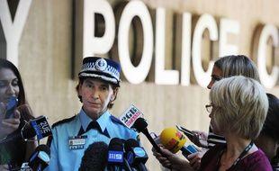 Catherine Burn, chef adjoint de la police de l'Etat de Nouvelle-Galles du Sud, le 15 décembre 2014.