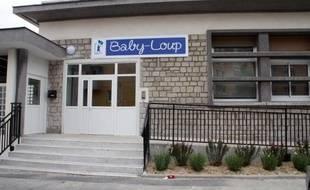 Vue le 3 juin 2014 de la crèche privée Baby-Loup de Conflans-Sainte-Honorine, à l'ouest de Paris, qui fut au coeur d'un médiatique procès sur le port du voile