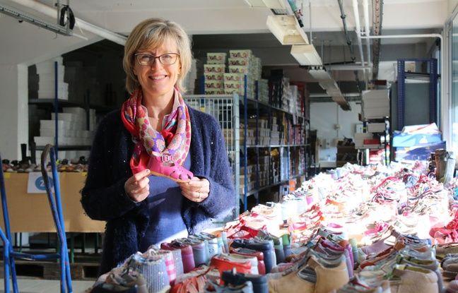 Marli Marchyllie présente la collection de chaussures pour enfants de l'Atelier du chalet aquitain