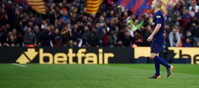 Andrès Iniesta penser à quitter le barça