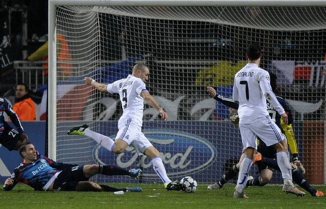 When he scored, for his return to Gerland in the Real jersey, in the round of 16 first leg of the Champions League (1-1) in February 2011, Karim Benzema had not celebrated his goal.