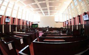 Vue du tribunal de Pontoise