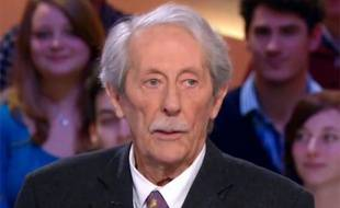 Jean Rochefort au Grand Journal de Canal+ le mardi 12 mars 2013.