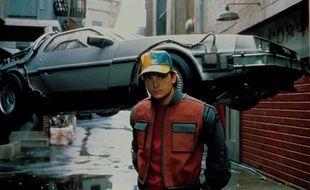 Michael J Fox incarne Marty McFly dans «Retour vers le futur II» en 1989.