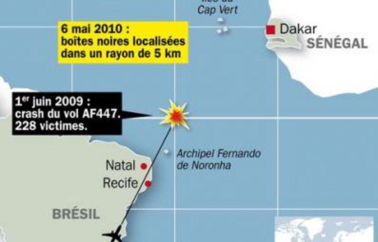 Vol AF447 Rio-Paris: les boîtes noires localisées, le mystère ne sera pas  pour autant résolu