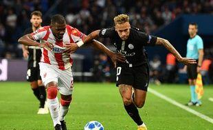 Les joueurs de l'Etoile Rouge ont-ils délibérément laisser Neymar briller au Parc des Princes.