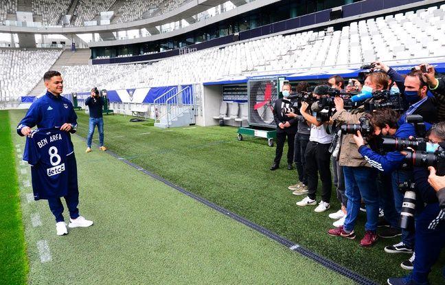 Hatem Ben Arfa, le nouvel attaquant des Girondins de Bordeaux.