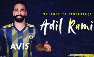 Licencié par l'OM, Adil Rami a signé à Fenerbahçe.