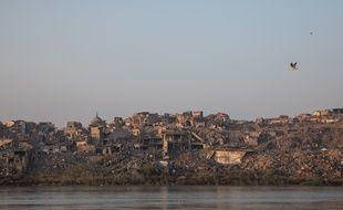 Mossoul, ville irakienne ayant subi les ravages de l'EI