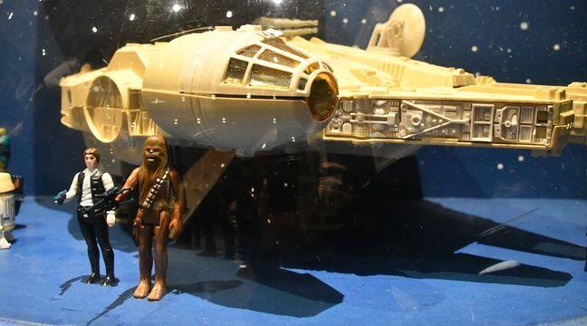 Les gendarmes retrouvent des palettes entières de jouets Star Wars volées