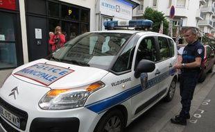 Villeurbanne, le 20 Mai 2015 Illustration police municipale. C. Girardon / 20 minutes