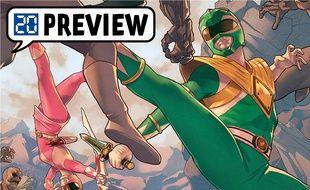 Extrait de Power Rangers tome 01