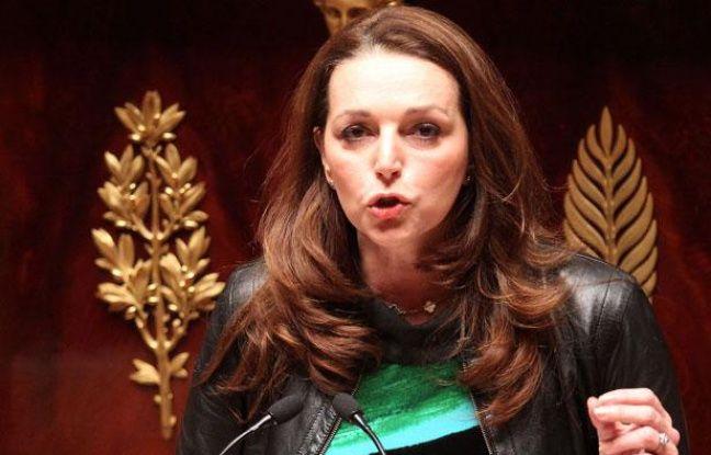 La députée UMP Valérie Boyer débat à l'Assemblée nationale