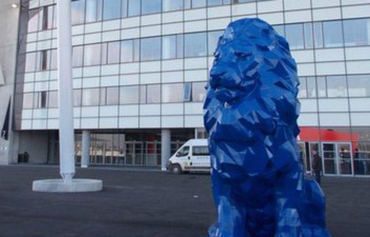 Quatre lions vont garder les tribunes du Grand Stade de l'OL – Capture écran Twitter